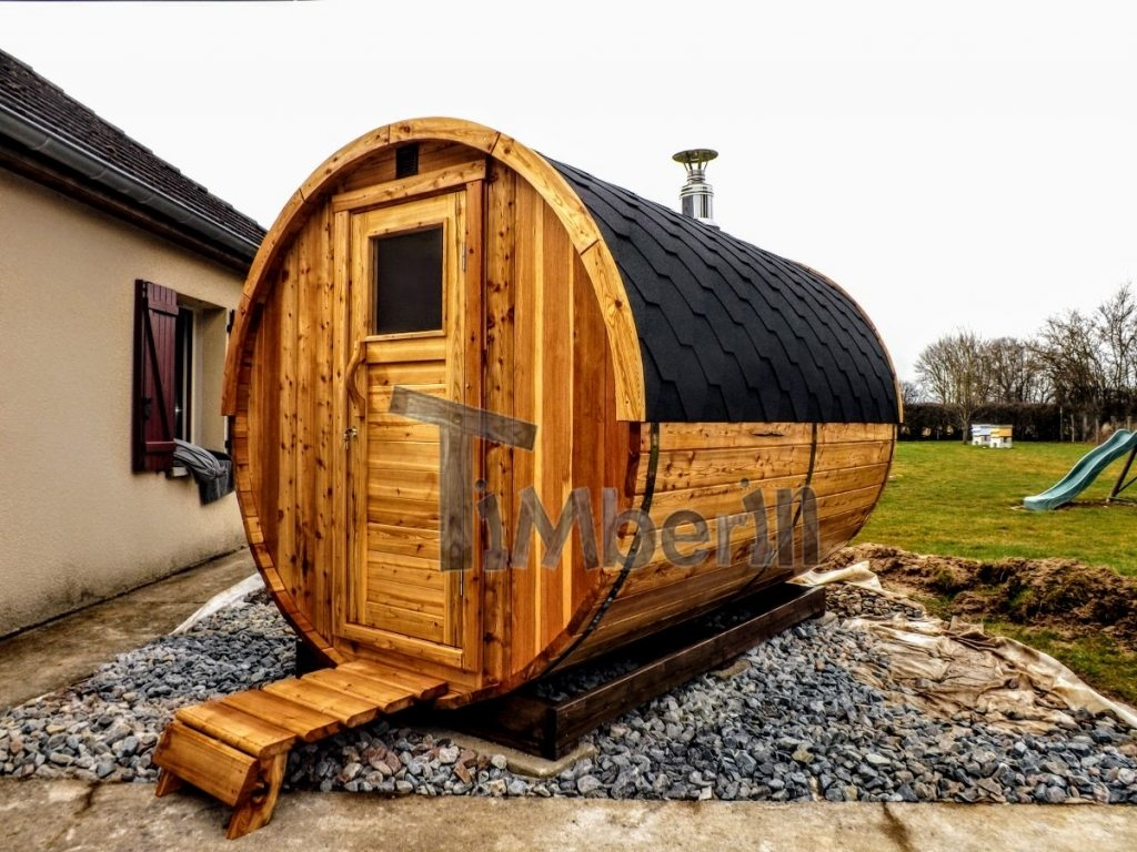 Outdoor barrel sauna Denmark