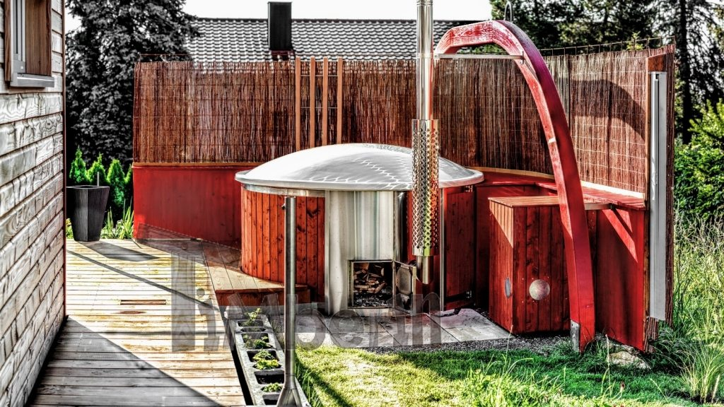 Outdoor whirpool project done in Germany (2)