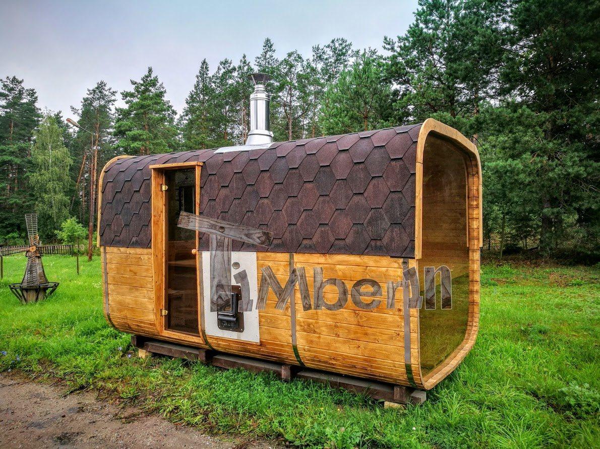 Rectangular outdoor garden sauna (3)