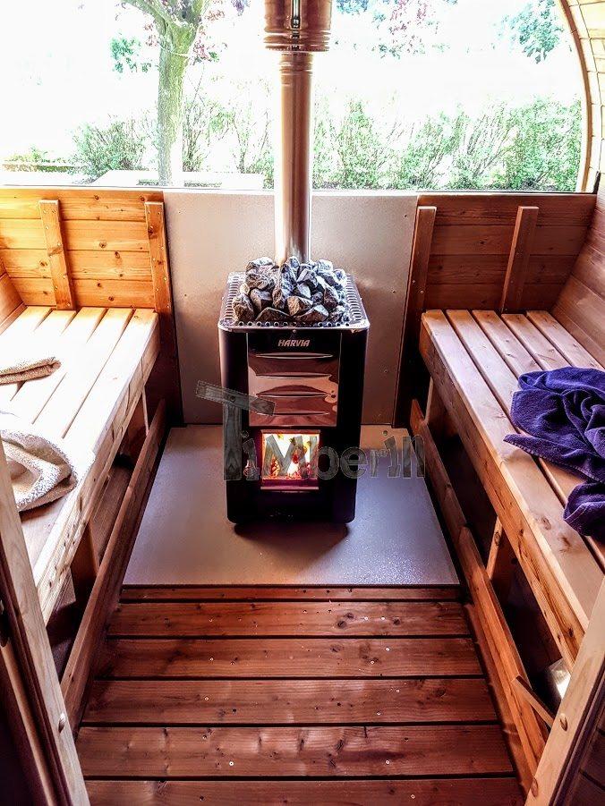 wood fired harvia m3 outdoor sauna heater